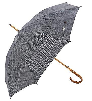UK Designed?Balios Prestige Walking Stick Umbrella?Bamboo Handle?Double Canopy