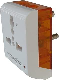 MX Polycarbonate Moulding Multiplug 3 Pin Universal Socket Connector (5 Amp)