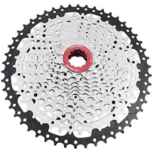 WENYOG Rueda Libre Bicicleta de montaña MTB 12 Velocidad Cassette 12S 50T Piezas de Bicicleta Freewheel Flywheel Sprocket 614G (Color : 12 Speed 11 50T)