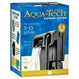 AQUA-TECH Power Aquarium Filter, 5 to 15-Gallon Aquariums