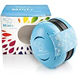 Schallwerk® Mini+ Protección auditiva para niños – cascos antiruido niños – orejeras niña/niño, auriculares bebe ruido, cascos bebes reduccion de ruido, cascos ruido niños, orejeras bebe
