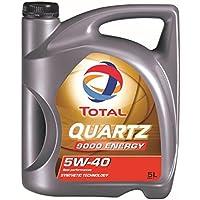 Total 3425901019277 Aceite para Motor Quartz 9000 Energy 5W40 5 litros, 5L