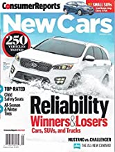 Consumer Reports New Cars 2016