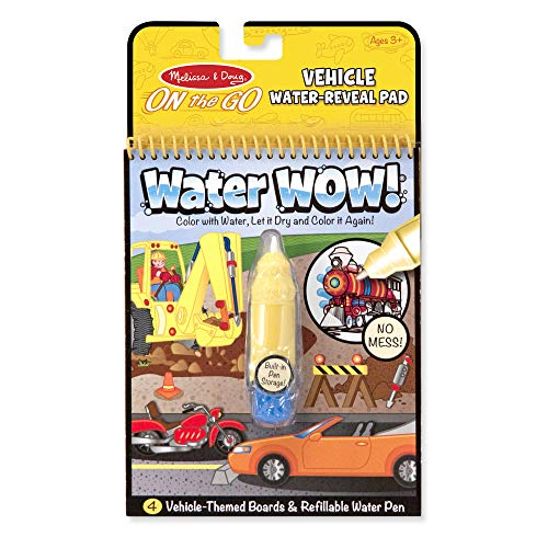 Water Wow! - Vehicles: Activity Books - On the Go
