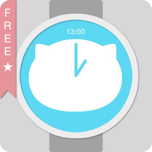 ★★★★★ Meo watch face designed for make your smart watch look cute and clean.