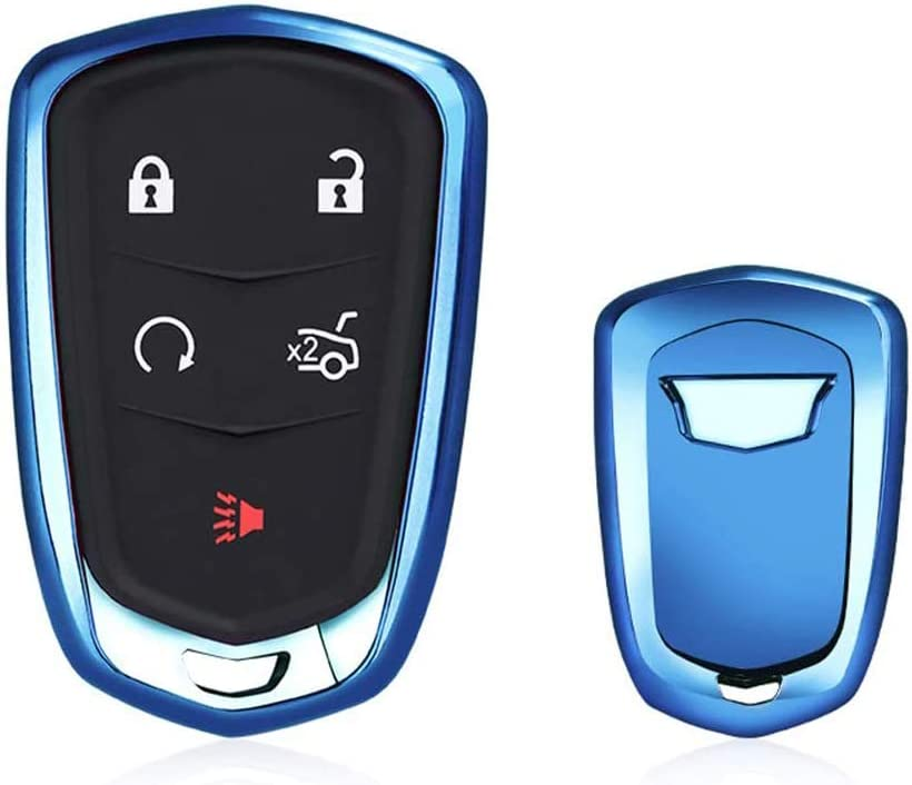 MAXMILO Soft TPU Case Cover Protector Year-end annual account for Key Cadillac Fob Regular discount