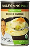 Wolfgang Puck Chicken Dumpling Soup 14.5 Oz -Pack of 12
