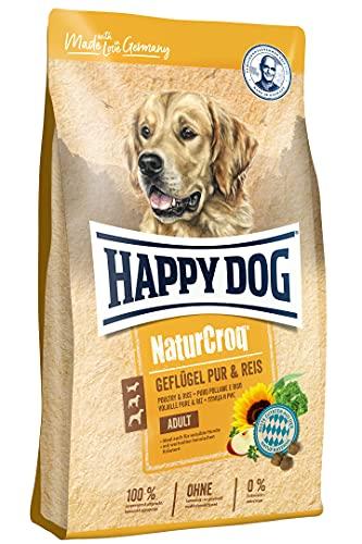 Happy Dog NaturCroq Geflügel pur & Reis, 15 kg