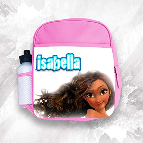Personalised Kids Backpack Any Name Moana Girl Childrens School Bag 3