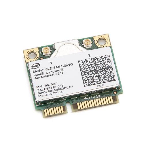 Intel Centrino Advanced-N 6205 62205AN.HMWG Tarjeta Wlan inalámbrica WIFI de doble banda 2.4/5.0 GHz 802.11a/b/g/n 300 Mbps