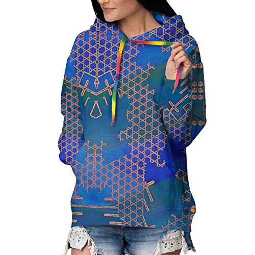 Newman Bryce100000 Jewel of The Nile Women's Hoodie Sweatshirt Pullover Casual Hooded Tops Hoodedshirt