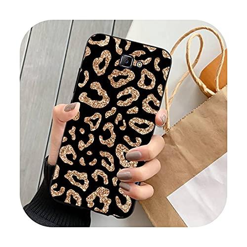 Happy-horse Fashion Leopard Print Phone Cases para Samsung Note 8 9 10 20 Lite pro ultra J 7 2 4 6 5 prime-a6-para J7Core o J7Neo