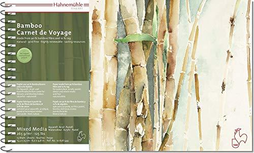 MixedMedia Carnet De Voyage Bamboo 265g/m², 15,3x25cm, 15Blatt