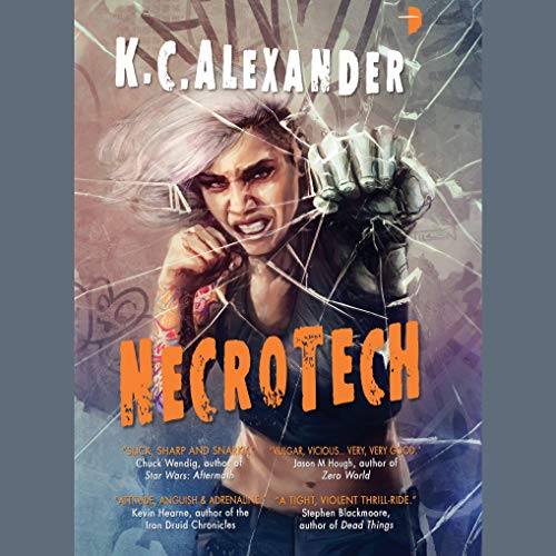 Necrotech audiobook cover art