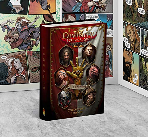 Divinity : Original Sin 2 II - Godwoken - Numbered Collector Edition (Graphic Novel Book) - Larian Studios Official (switch, ps4, pc)
