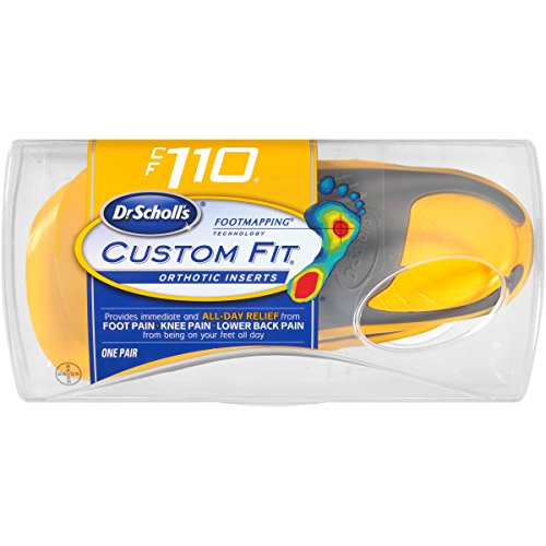 Dr. Scholl's Custom Fit Orthotic Inserts, CF 110