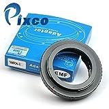 Pixco Adaptador de montura de lente con enfoque ajustable chip de confirmación EMF AF, lente Tamron Adaptall II a cámara Canon EOS como EOS 7D y 60D (Tamron-EOS)