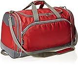 Amazon Basics - Sporttasche, Größe M, Rot
