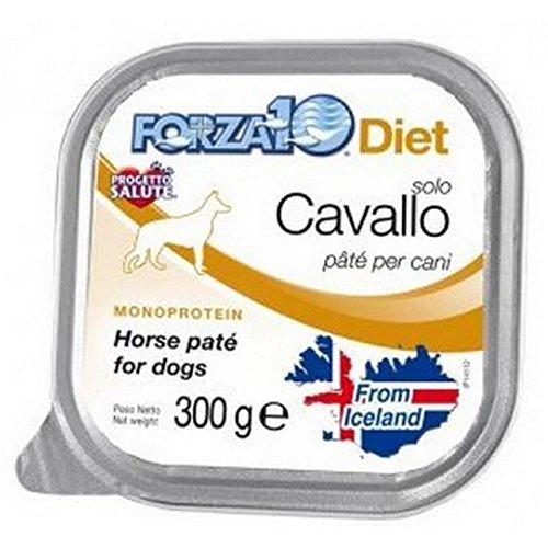 FORZA F10 Solo Diet Pâtée pour Chien au Cheval 300 g x 18