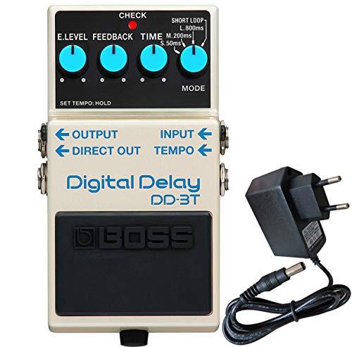 Boss DD-3T Digital-Delay Effektgerät + keepdrum 9V Netzteil