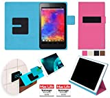 Hülle für Acer Iconia One 7 (B1-750) Tasche Cover Hülle Bumper   in Pink   Testsieger