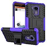QiongniAN Funda para Huawei GT3,Teléfono con Soporte a Prueba de Golpes Funda para Huawei GT3 NMO-L02 NMO-L03 NMO-L22 NMO-L23 NMO-L31 Carcasa Case Funda Purple
