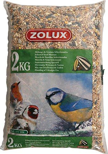 Zolux - Grano para pájaros de jardín – Alimentos para pájaros