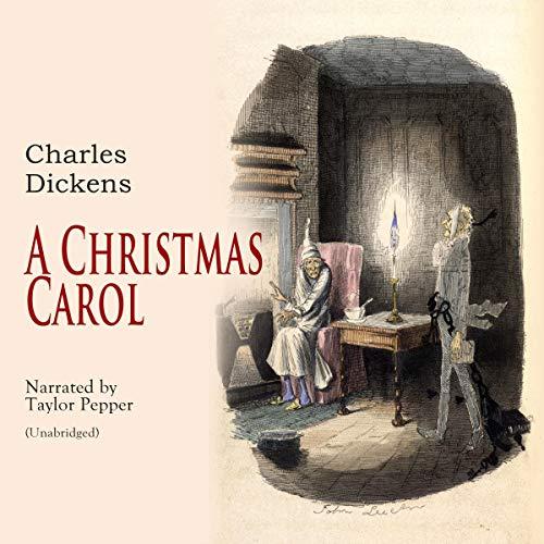A Christmas Carol audiobook cover art