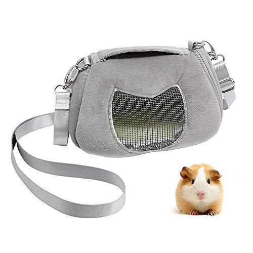 Ogquaton Tragbare Pet Carrier Outgoing Handtasche mit Einstellbarer einzelner Schultergurt Tasche für Sugar Glider Hamster Eichhörnchen Kleintiere langlebig und nützlich