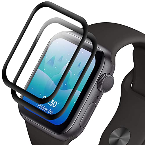 Protector Pantalla para Apple Watch Series 6/5/4/SE 40mm [2 Pack] , Cristal...