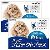 【動物用医薬品】【2箱セット】ベッツワン ドッグプロテクトプラス 犬用 S 5kg~10kg未満 6本