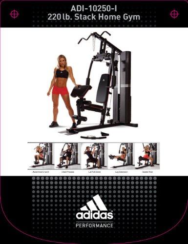 Apéndice sopa inestable  adidas 200 Pound Stack Home Gym- Buy Online in Malta at Desertcart