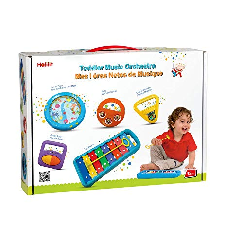 Halilit Toddler Music Orchestra Musical Instrument Gift Set