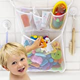 7thLake 1 Stück Kinder Badewanne Spielzeug Aufbewahrungstasche Spielzeug Mesh Netz Bad Ordentlich Organizer