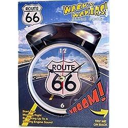 Wacky Wakers Route 66 Alarm Clock