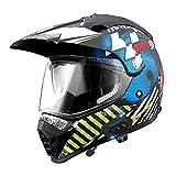 Hammock Cascos de Motocross para Adulto Hombre Mujer,Bluetooth Casco Integral de Moto Cross con Bluetooth Walkie Talkie,ECE Homologado,Off-Road MTB Descenso Enduro Motocicleta Racing C,XXL=63~64cm