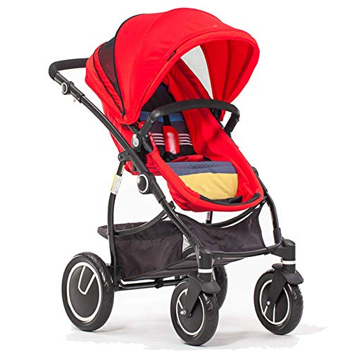 Learn More About MEI Baby Trolley Baby Stroller High Landscape with Reversible Bassinet Compact Bugg...