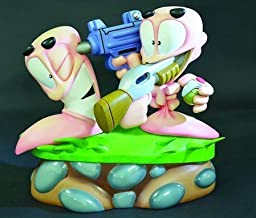 Worms 2: Armageddon Diorama First 4 Figures Statue