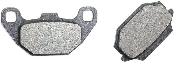 CNBK Rear Brake Pad Semi-Metallic fit KYMCO ATV MXU150 MXU 150 05 06 07 08 09 10 11 12 13 14 2005 2006 2007 2008 2009 2010 2011 2012 2013 2014 1 Pair(2 Pads)