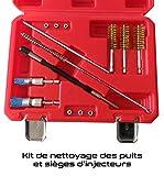 Kit de nettoyage des sièges et puits d'injecteurs des moteurs diesels - élimination de la calamine accumulée suite à une fuite