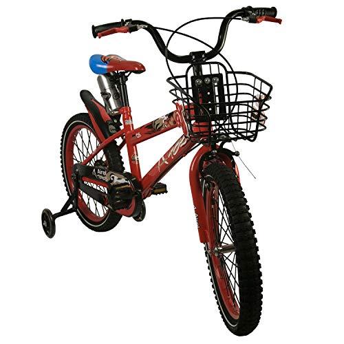 Zerimar Airel Bicicletas Infantiles para niños y niñas  Bici con ruedines y Cesta  Bici niño   Bicicleta niños 14,16,18 Pulgadas   Bicicletas niños 3-8 años