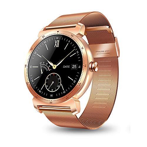 Zwbfu K88HPLUS Reloj Smartwatch Mujer Hombre Calorías del Ritmo cardíaco Monitor de sueño BT 1.3in Pantalla IPS Reloj Deportivo Dispositivos portátiles