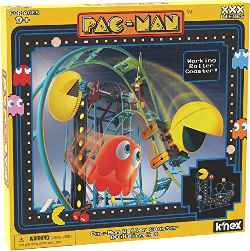 K'NEX 15188 Pacman Roller Coaster-Ages 9+ Motorized for sale  Delivered anywhere in UK
