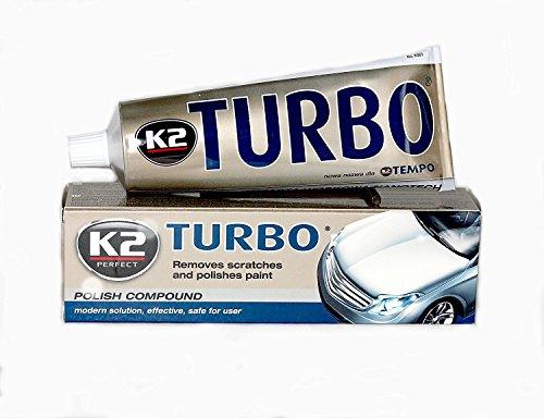 K2Turbo Tempo Nano-Auto Wachs Kratzer Entferner Polish Compound Alte Farbe Glanz