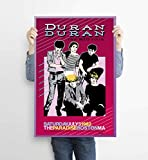 LKY Duran Duran Konzert-Poster, Druck, moderne
