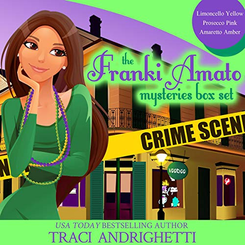 Franki Amato Mysteries Box Set, Books 1-3 audiobook cover art