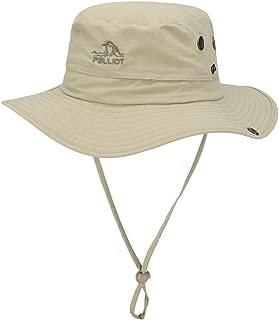 FX Outdoor Sun Hat Female Summer Sun Hat Sun Hat Breathable Sports Hat Big Hat Side Fisherman Hat Travel Hat Male (Color : Brown)