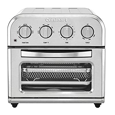Cuisinart Compact Toaster Oven AirFryer, Silver