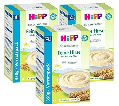 Hipp Brei Feine Hirse, 3er Pack (3 x 350g)
