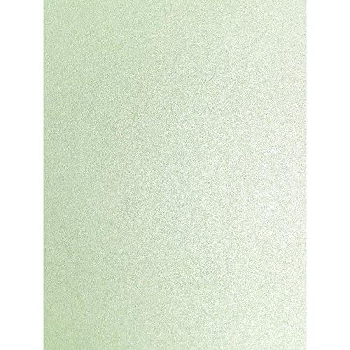 Syntego Fresh Mint Grün Perlglanz dezente Sparkle Effekt doppelseitig A4Dekorative Karte 290GSM x 10